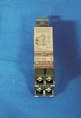 Contact, Auxiliary, Allen Bradley, 595-AA Series B  ***NEW***