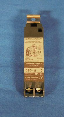 Contact, Auxiliary, Allen Bradley, 595-A, Series C  ***NEW***