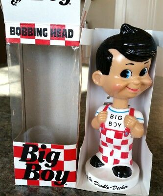 1998 Big Boy, Elias Brothers,Plastic Nodder, Bobber, Mint in Box