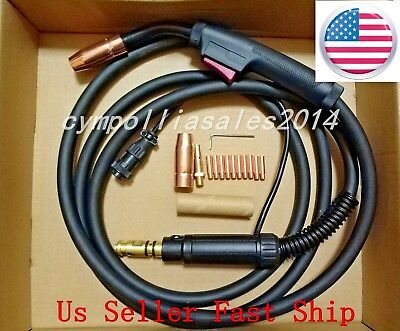 US SELLER MIG WELDING GUN 15' 200AMP replacement,LINCOLN Magnum 250L,Power MIG