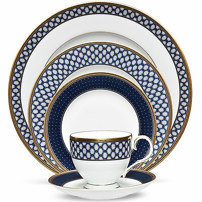 Noritake Blueshire China 20Pc Set, Service for 4