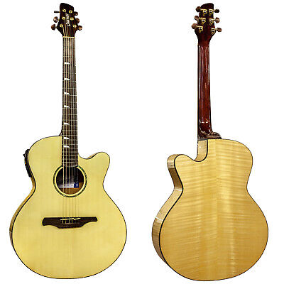 GUVNOR GCD754 Classical Spanish Acoustic Guitar Nylon Strings Solid Spruce Top