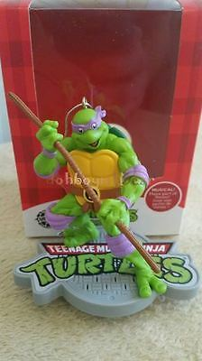 2015 Carlton/American Greetings Donatello TMNT Turtles Magic Theme Ornament