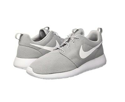 12823ca23b73eb New Men Nike Roshe One Wolf Grey White Running Shoes Authentic 511881-023