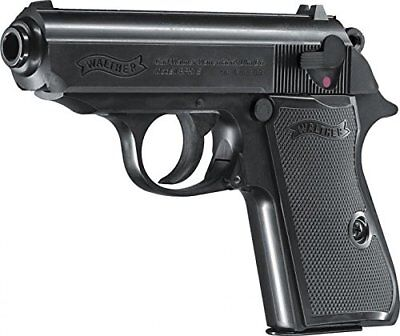 Softair Pistole VOLLMETALL Walther PPK/S unter 0,5 Joule 6mm