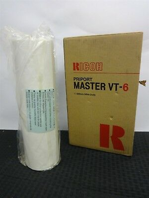 Ricoh Priport VT-6 Duplicator Master Roll 125m A3 Size 893994