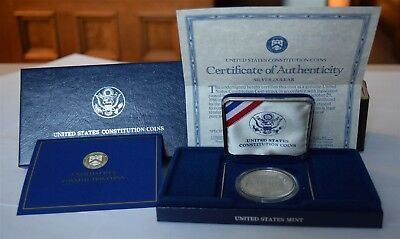 "1987 Constitution Silver Dollar ""Proof"" *Free S/H After 1st Item*"
