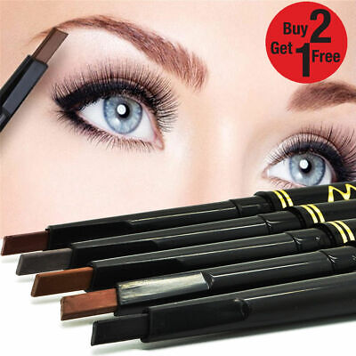 Max Dona Brow Definer Eyebrow Pencil Chalk Pen Retractable Lasting Make up UK
