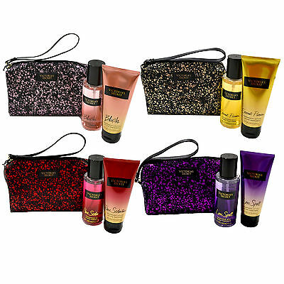 Victoria's SecretFantasies Gift Set Fragrance Mist Bag Lotion Body Spray Splash