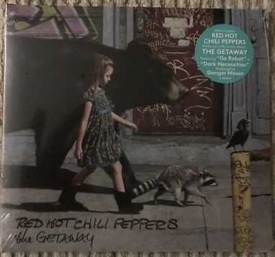 The Getaway by Red Hot Chili Peppers (CD, Jun-2016) Brand New!!!