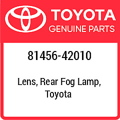 81456-42010 TOYOTA Lens Body New Genuine OEM Part