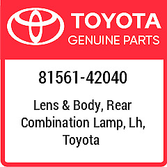 81561-42040 TOYOTA Rr Combination Lens New Genuine OEM Part