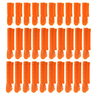 30pcs Plastic Salon Hair Pin Curl Clips Sectioning Pinning Curling Grips Kit