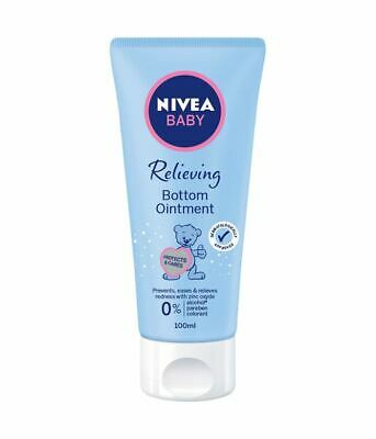 BOTTOM OINTMENT NIVEA BABY Protection From Diaper Rash & Reduces Redness 100ml