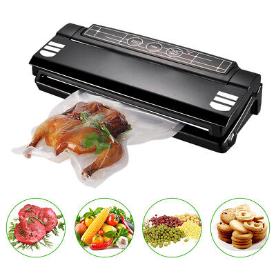 Food Saver Vacuum Sealer Machine Kitchen Preservation Package System With Bags