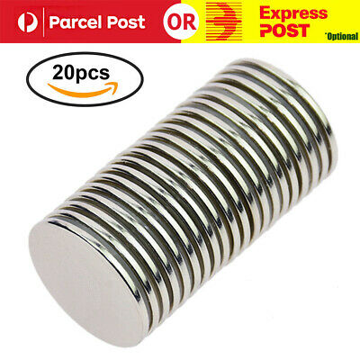 N52 Strong Neodymium Rare Earth NdFeB Round Thin Magnets Disc for Craft Tools