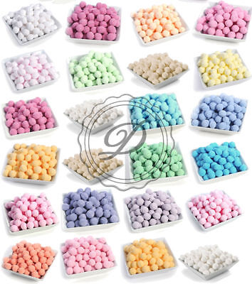 Assorted 10 Pack Of Bath Marbles - Colours Chill Pill Lush Bombs Fizzers Mini