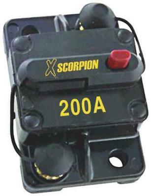 Audiopipe CB200A Circuit Breaker 200 Amp Xscorpion