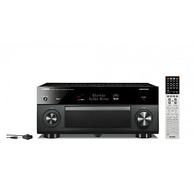 Brand New Yamaha RX-A3070 Black AVENTAGE 4K 9.2 Channel Atmos DTSx AV Receiver