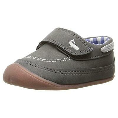 Carters Every Step Crawl Stage 1 Faux Suede Casual Shoes Sneakers BHFO 0498