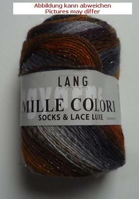 Lang Yarns Mille colori socks & Lace luxe 400 m / 100g Fb. 103
