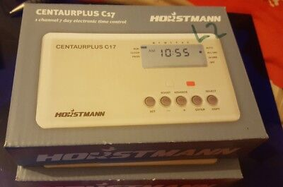 Horstmann 425 coronet time switch 24 hour central heating timer horstmann c17 centaurplus time switch 7 day central heating timer 1st class del freerunsca Images