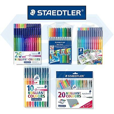 STAEDTLER Stationary - Pens / Colouring Pencils / Felt Tips / Triplus Colour JB
