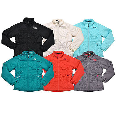 2d17acb81794 The North Face Womens Jacket Insulated Zip Puffer Catawissa Quilted Flowers  New