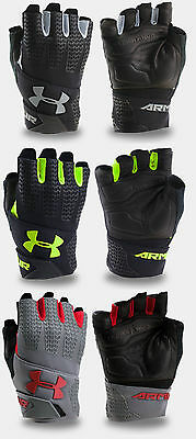Under Armour Men's UA ClutchFit Resistor Half Finger Workout Gloves 1/2 Finger