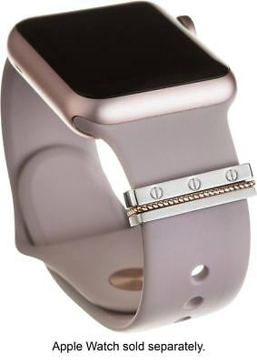 Apple Watch Accessory Bytten - Twist Stack - Rose/Silver Glam Stack BYT-ROSETWI