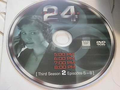24 Third Season 3 Disc 2 Replacement DVD Disc Only 42-119
