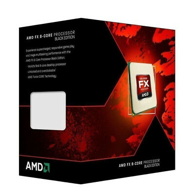 AMD FX 8350 4GHz 8MB L2 Desktop Processor Boxed
