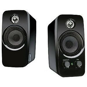 Creative Inspire T10 2.0 Speaker System - 10 W RMS 51MF1601AA000