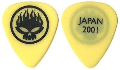 The Offspring Dexter Holland 2001 Japan concert tour real stage Guitar Pick