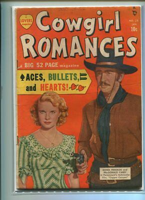 Cowgirl Romances #28 Solid Grade Photo Cover Marvel
