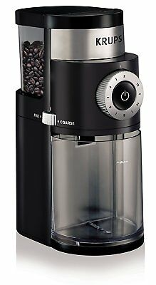 KRUPS Electric Spice Coffee Grinder Mill Bean Burr With Stainless Steel Blades