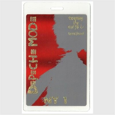 Depeche Mode authentic 2005 concert Laminated Backstage Pass Angel Tour New York