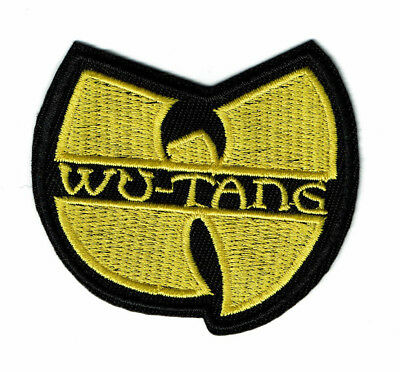 """3"""" WU-TANG patch Iron on  embroidered hip hop logo patches wu tang usa wutang"""