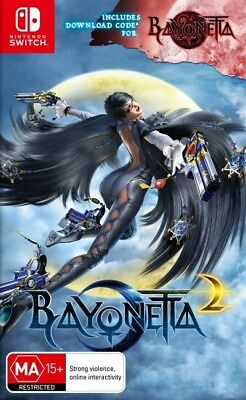 Bayonetta 2 Nintendo Switch New!