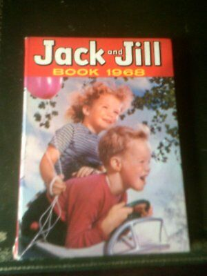 JACK  AND JILL ANNUAL 1968, Published 1967,Children's Annual, Vintage Book