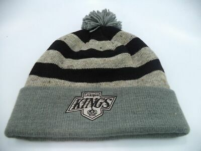 96ab44ae725 Los Angeles Kings Mitchell   Ness NHL Oatmeal Knit Toque Beanie Hat Cap OSFM