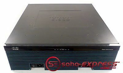 Cisco 3945 Integrated Service Router Cisco3945-Chassis V02 C3900-Spe150/k9 Spe