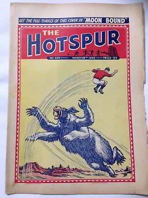 DC Thompson. THE HOTSPUR Wartime Comic. March 28th 1942 Issue 434.