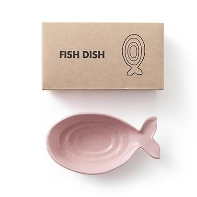 Simple Fish Shape Soy Sauce Dish Eco-Friendly Wheat Straw Snack Plate EB