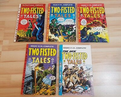 TWO FISTED TALES EC E.C Gemstone annual 1 2 3 4 5 FULL RUN reprints 1-24
