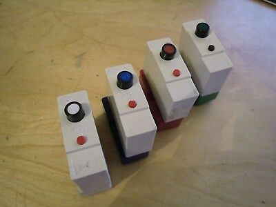 Re-wireable Fuse Replacements Wylex Push Button Type B BS3871 & Base Shields