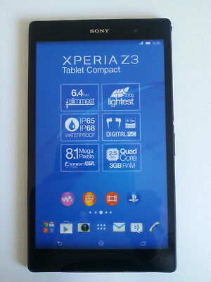 Sony XPERIA Z3 Tablet Compact in Black Tablet Dummy Attrappe - Requisit, Deko