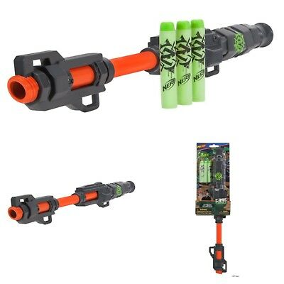 Nerf Zombie Blowdart Blaster Strike Game Gun Fun Kids Toy Rare Blowgun Blow Dart