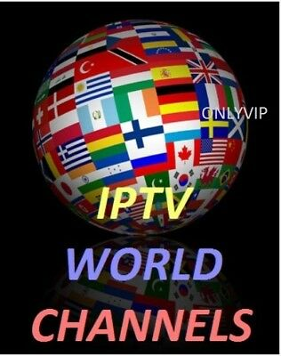 IPTV Subscription 24 Hours Europe US Arabic Turk Smart TV Android Mag 1 day Test