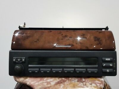 BMW E53 X5 business CD and radio controls